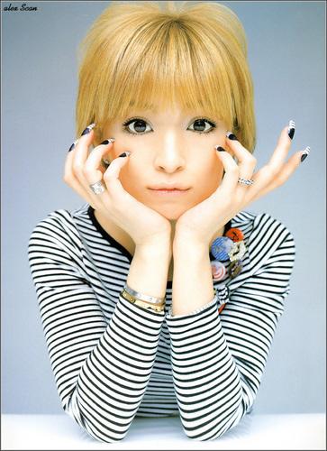 Jpop achtergrond titled Ayumi Hamasaki