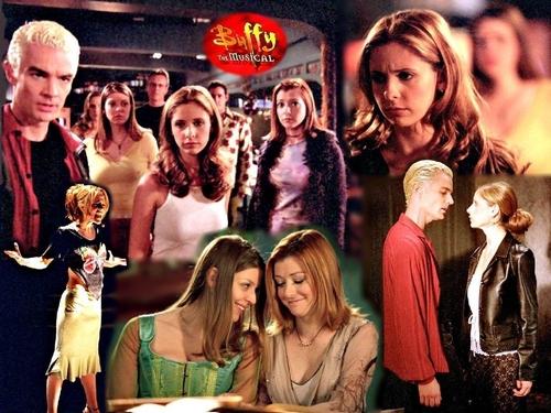 The Buffyverse fond d'écran called BTVS