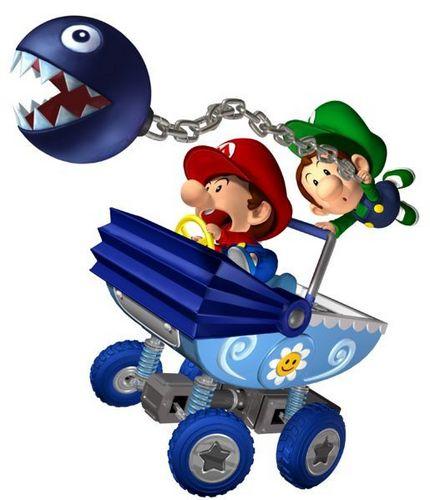 Baby Mario and Baby Luigi