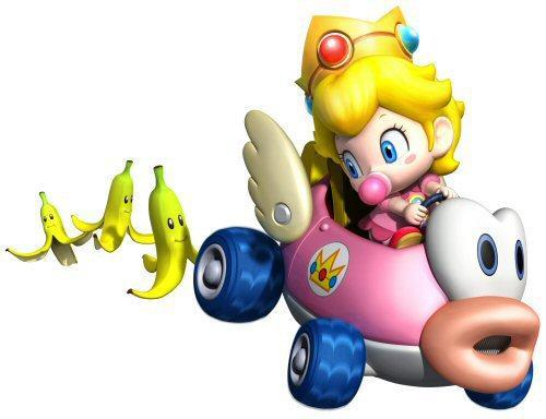 Baby pesca, peach in Mario Kart Wii