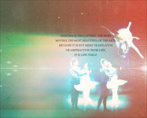 Ballet fond d'écran