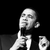 U.S. Democratic Party litrato entitled Barack Obama