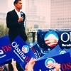 Barack Obama - us-democratic-party Icon