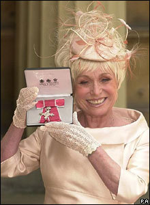Barbara Windsor gets MBE