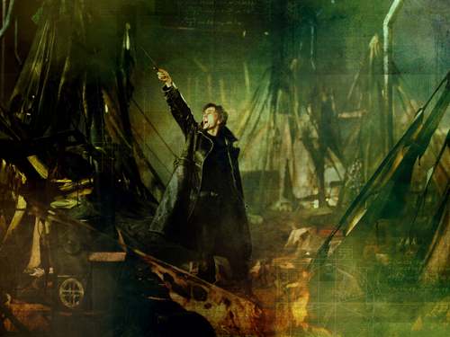 Harry Potter wallpaper possibly with a concert and a fire titled Barty Crouch Jr.