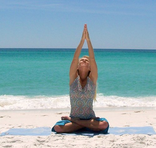 Beach Yoga - yoga Photo
