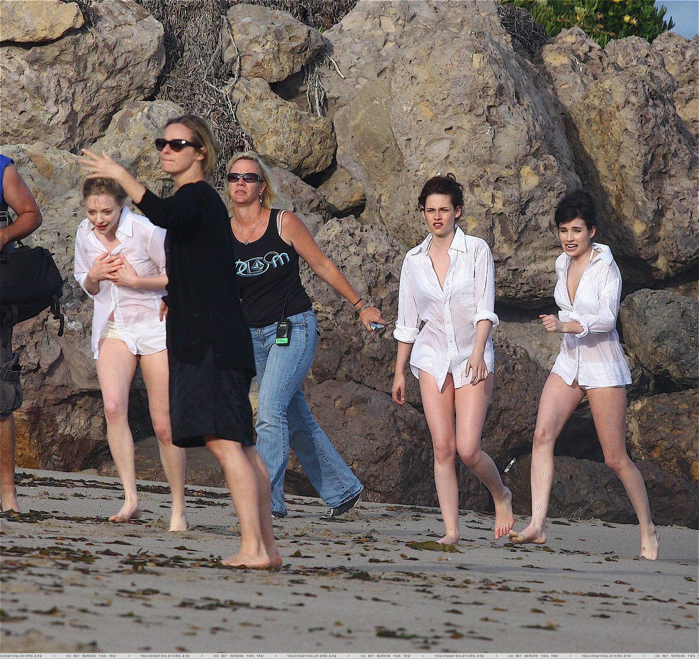 Kristen Stewart Behind the Scenes Malibu Photoshoot
