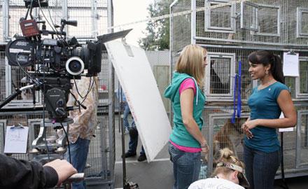 Behind the scenes (203)