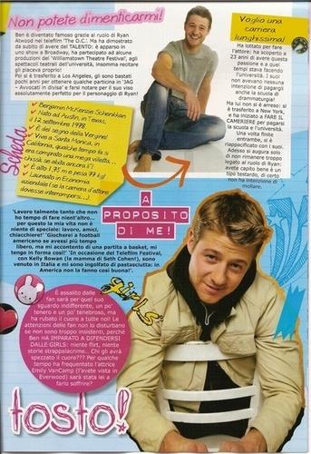 Ben in Spanish magazine