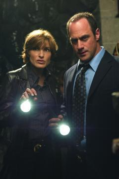 Elliot and Olivia wallpaper titled Benson & Stabler