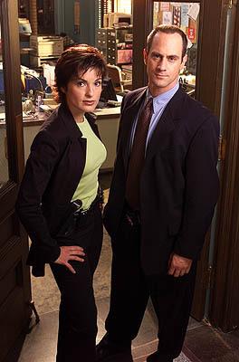 Elliot and Olivia wallpaper titled Benson & Stabler