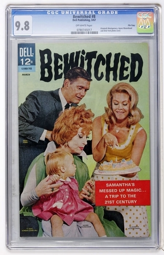 Bewitched wallpaper entitled Bewitched Comic Book #8