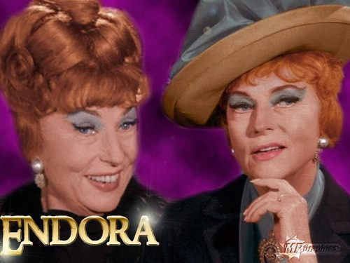 Bewitched wallpaper titled Bewitched - Endora