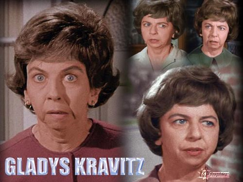 Bewitched - Gladys Kravitz  - bewitched Wallpaper