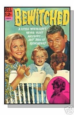 Bewitched comic book #10