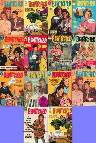 Bewitched comic کتابیں