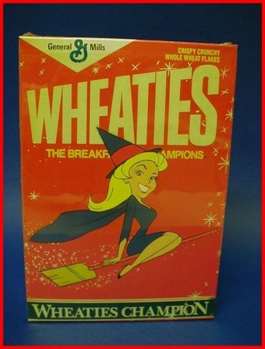 "बीविच्ड on ""Wheaties"""