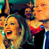 U.S. Democratic Party photo entitled Bill & Chelsea Clinton