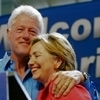U.S. Democratic Party litrato titled Bill & Hillary Clinton