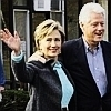 U.S. Democratic Party photo entitled Bill & Hillary Clinton