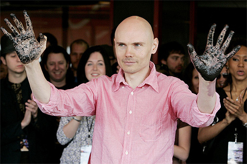 Billy Corgan gets his star...