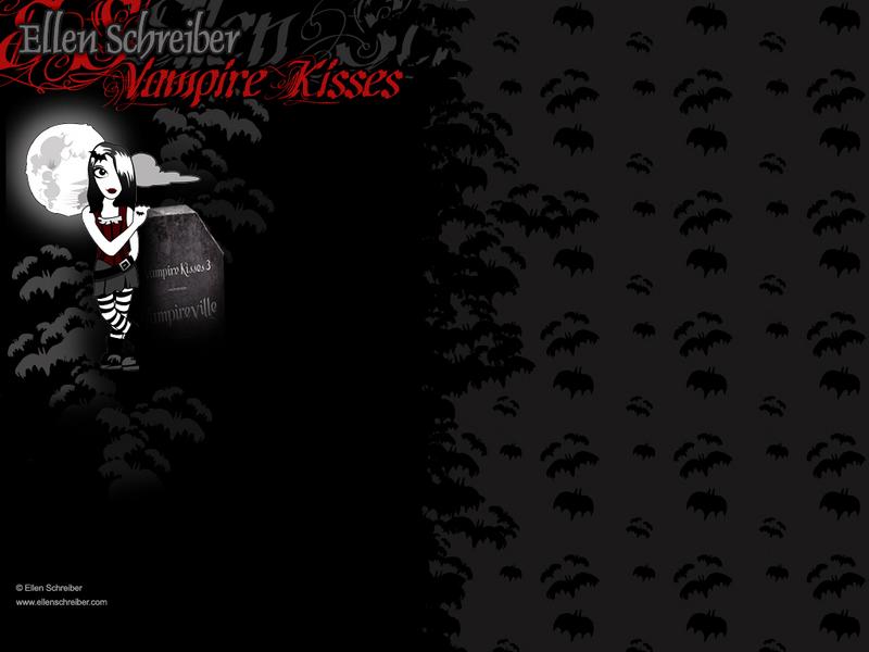 Black VK Wallpaper - Vampire Kisses Series Wallpaper (964265) - Fanpop
