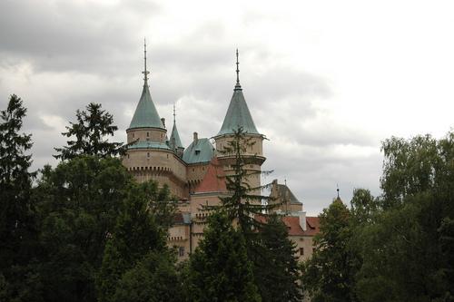 Bojnice गढ़, महल - Slovakia