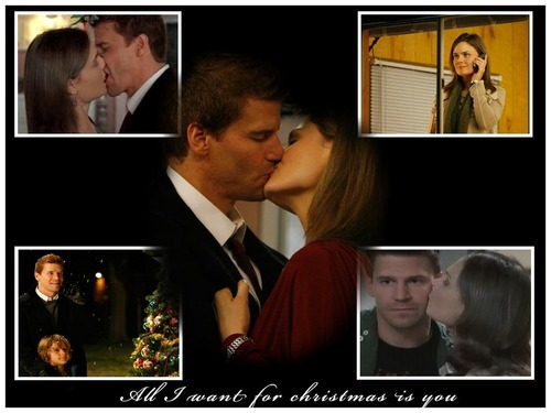 Famous Kisses wallpaper containing a business suit entitled Booth & Brennan