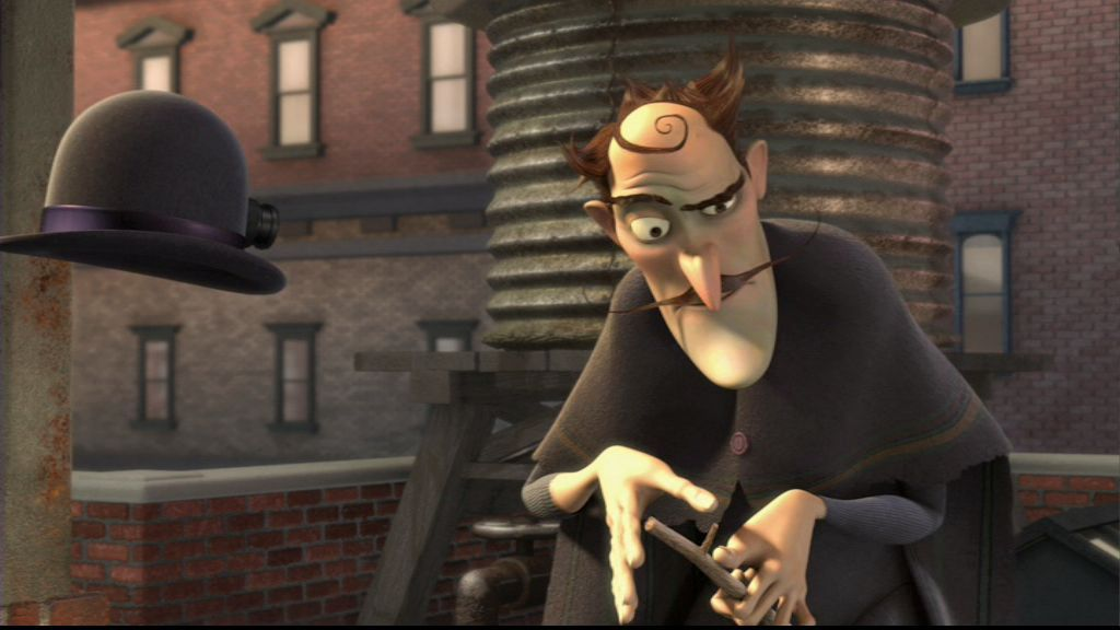 bowler hat guy from meet the robinsons