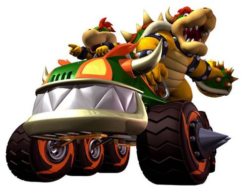 Bowser and Bowser Jr.