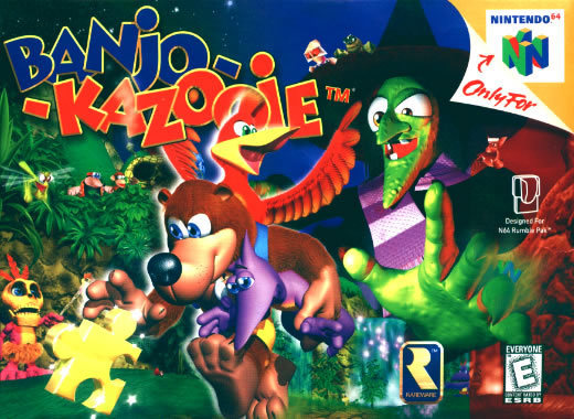 banjokazooie images box art wallpaper and background