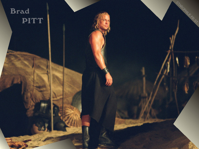 Brad Pitt - Achilles - Troy Wallpaper (1107360) - Fanpop