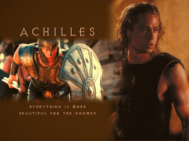 brad pitt in troy wallpapers. Brad Pitt - Achilles - Troy Wallpaper (1113765) - Fanpop