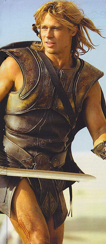 Brad Pitt karatasi la kupamba ukuta entitled Brad Pitt - Troy