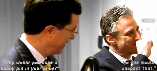 Stephen Colbert wallpaper possibly containing a business suit called Brawl Banner