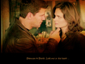 Brennan & Booth - famous-kisses wallpaper