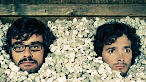 Flight of the Conchords वॉलपेपर called Bret & Jemaine Banner