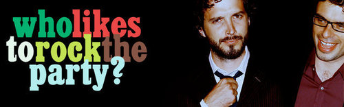 Flight of the Conchords wallpaper probably with anime entitled Bret & Jemaine Banner