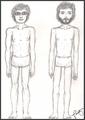 Bret & Jemaine Body study