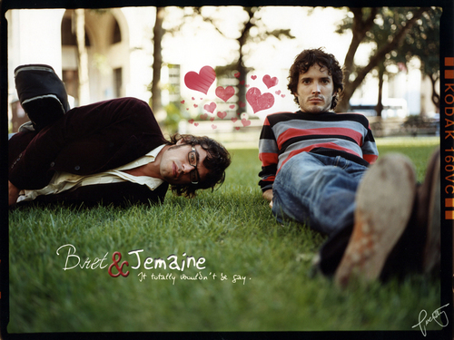 Bret & Jemaine l'amour