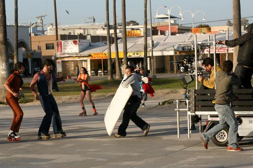 Bret & Jemaine Shooting FotC