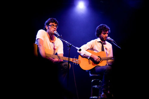 Flight of the Conchords fond d'écran called Bret & Jemaine