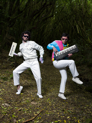 Flight of the Conchords wallpaper entitled Bret & Jemaine