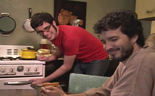 Bret & Jemaine - flight-of-the-conchords Screencap
