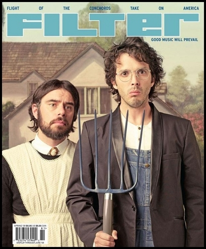 Flight of the Conchords wallpaper entitled Bret & Jemaine's Filter Cover