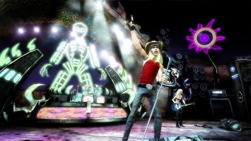 gitaar Hero achtergrond entitled Bret Michaels
