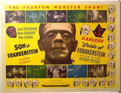 Bride of Frankenstein + Son of