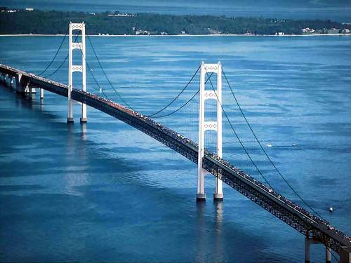 Mackinac Bridge - Michigan
