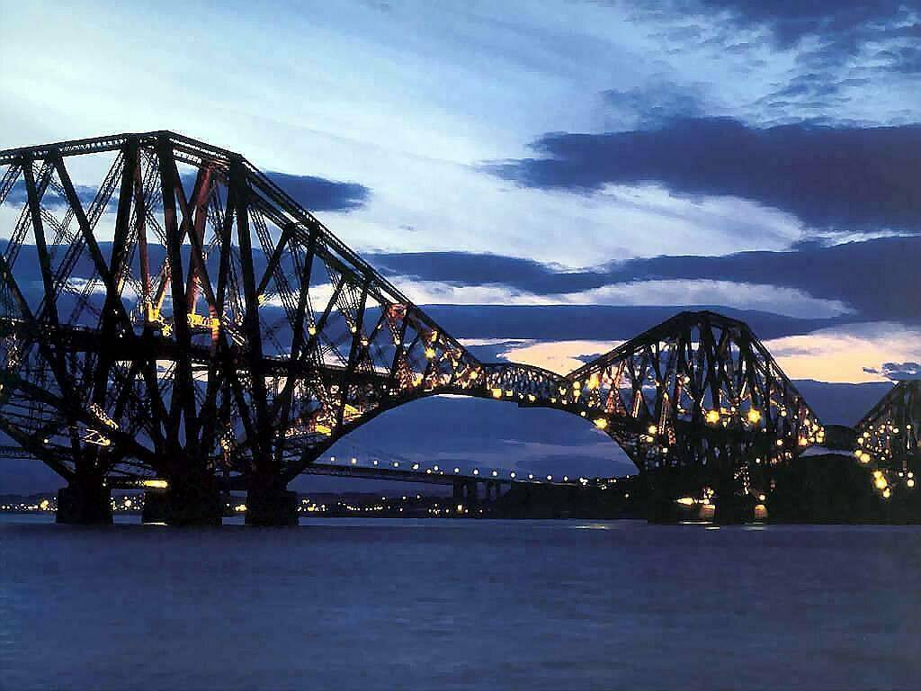 Bridges forth bridge scotland