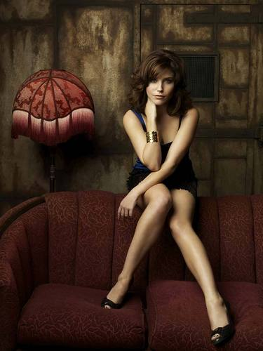 One Tree Hill wallpaper possibly containing bare legs, hosiery, and a couch titled Brooke Davis